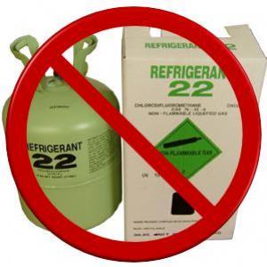 น้ำยาแอร์ที่ใช้ในประเทศไทย R 22 เป็นสาเหตุทำให้เกิดภาวะโลกร้อน