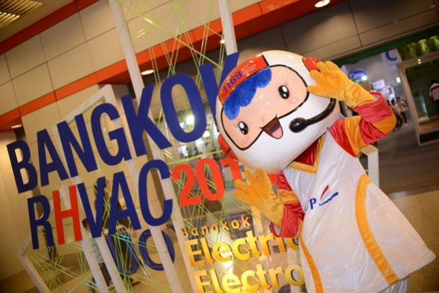 กำหนดจัดงาน Bangkok RHVAC 2015