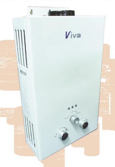 เครื่องทำน้ำอุ่นแก๊สนำเข้า ยี่ห้อ Viva สุดยอดระบบควบคุมความปลอดภัย