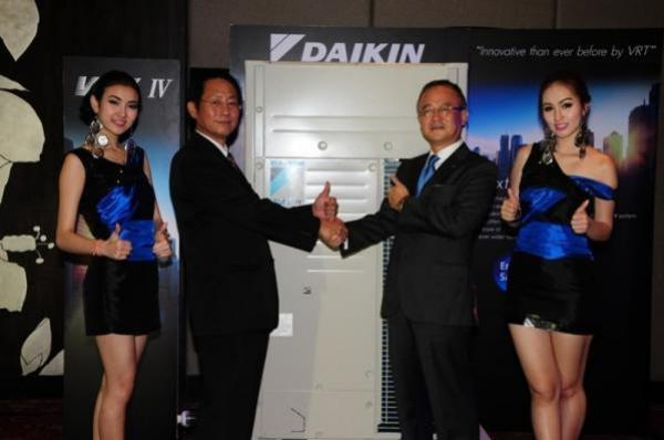 """ประกาศเปิดตัว """"ไดกิ้น วีอาร์วี รุ่นที่ 4"""" (Daikin's VRV IV)"""