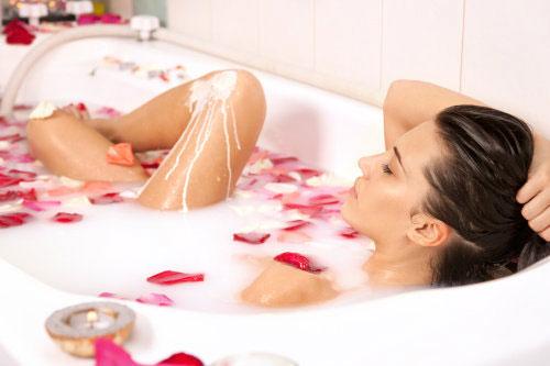 อาบน้ำอุ่น กับสุขภาพ