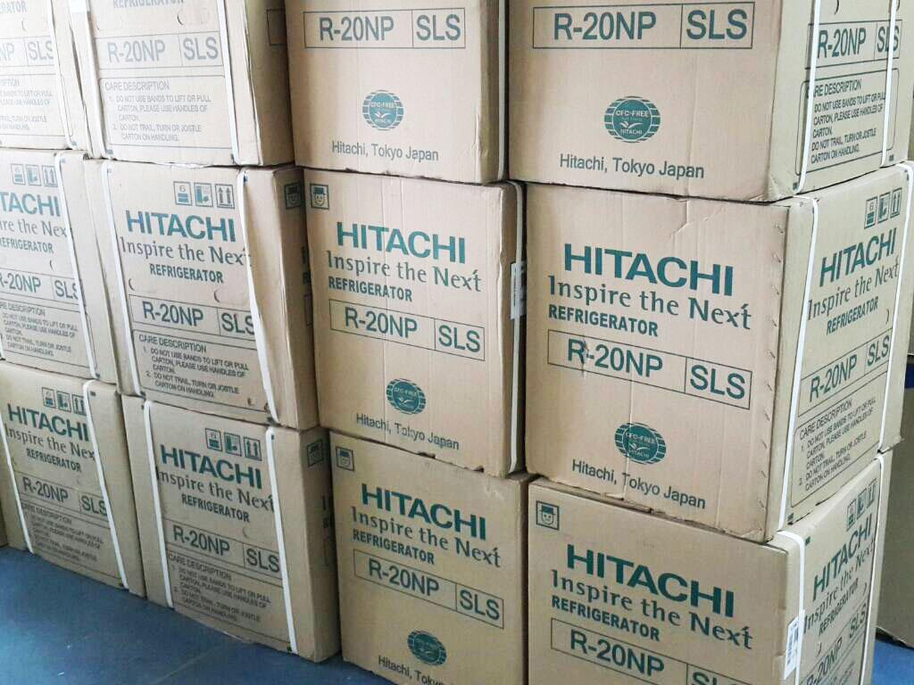 จำหน่ายตู้เย็นขนาดเล็ก ยี่ห้อ Hitachi ขนาดกะทัดรัดราคาส่ง