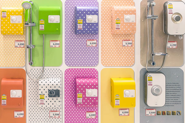 เครื่องทำน้ำอุ่นแบบจุดเดียว การเลือกซื้อและจำนวนวัตต์ คืออะไร